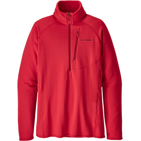 Patagonia W's R1 Pullover Maraschino